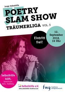 Träumerliga – Slam-Show// Junge Selbsthilfe Frankfurt Poetry-Slam, selbsthilfe