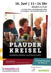 """Kaffee """"Plauderkreisel"""" – Junge Selbsthilfe Frankfurt, selbsthilfe"""