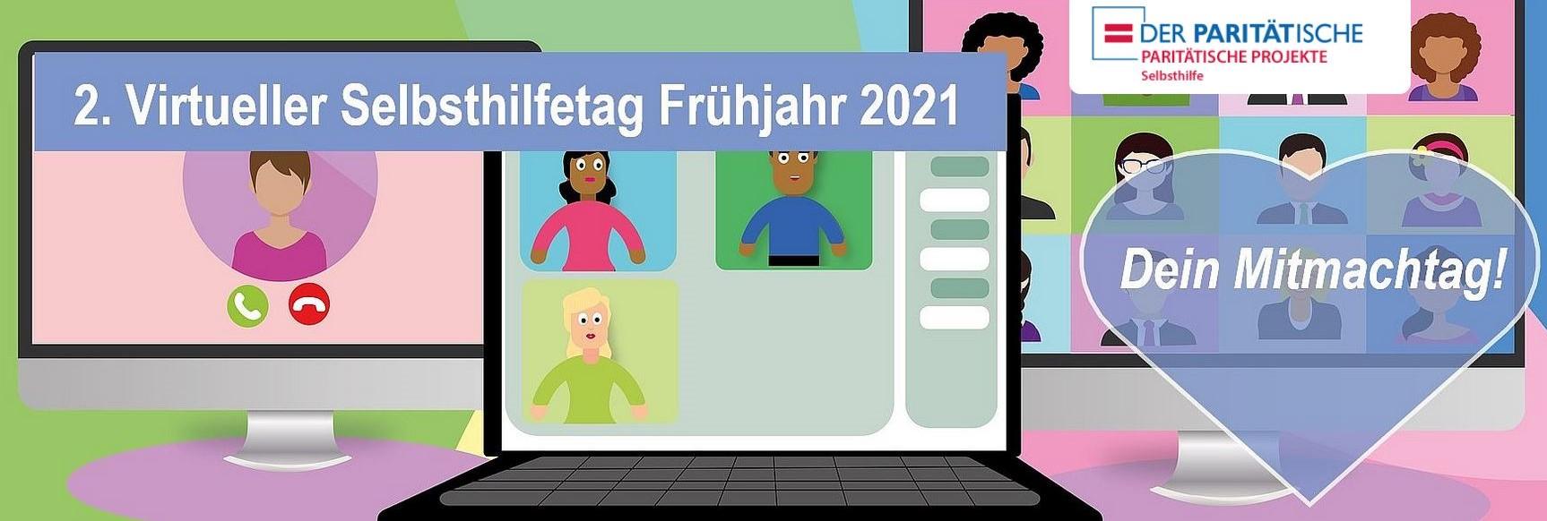 2. Virtueller Selbsthilfetag am 26. und 27. März 2021